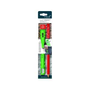 PICA Pocket komplekt puidule - 1 pliiats, pliiatsihoidja teritajaga