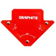 Magnetnurkraud Graphite, keevitustöödeks, 82 x 120 x 13 mm
