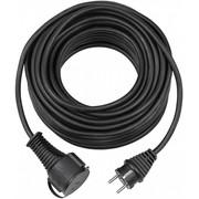 Jätkujuhe 10m H05RR-F 3G1,5 kummikaabel IP44 must