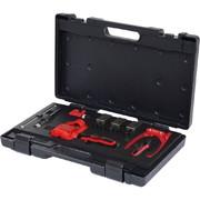 Piduritorude valtsimise komplekt KS Tools 4,75 / 5 / 6 mm, universaalne, 16-osaline