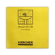 Mikrofiiberlapp Kärcher 37,5 x 38 cm, kollane - 10 tk