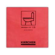 Mikrofiiberlapp Kärcher 37,5 x 38 cm, punane - 10 tk