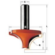 Sõrmfrees CMT HM S=8 mm, D=23 mm, R=6 mm