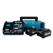 Komplekt Makita XGT 40 V, 2 x BL4040 + DC40RA laadija + MakPac