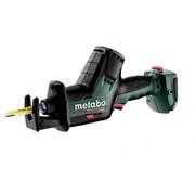 Akuotssaag Metabo SSE 18 LTX BL Compact + metaBOX 145 - ilma aku ja laadijata