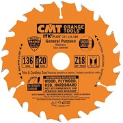 Saeketas CMT 136x1,5x20(+10)mm Z18