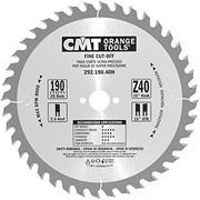 Saeketas CMT 190x2,6x20 mm, Z40