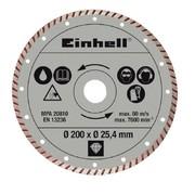 Teemantlõikeketas Einhell 200 x 25,4 mm