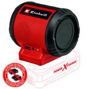 Bluetooth kõlar Einhell TC-SR 18 Li BT - ilma aku ja laadijata