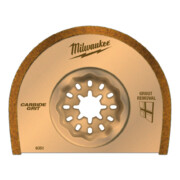 Universaallõikuri karbiidtera Milwaukee 75 x 2,2 mm, mördi eemaldamiseks