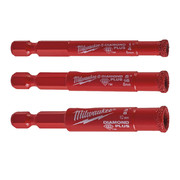 "Teemantpuur Milwaukee Diamond Plus 5-20 mm, 1/4"" kuuskantsabaga"