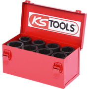 "Löökpadrunite komplekt KS Tools 3/4"", 24-36 mm, 8-osaline"
