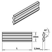 Höövliterad CMT 410 x 10 x 2,3 mm, TERSA HPS