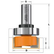 Sõrmfrees CMT S=8 mm, D=16x19 mm, HM, laagriga