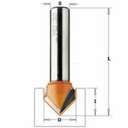 Sõrmfrees CMT S=8 mm, D=16x12,7 mm (90 kraadi), HM