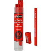 Pliiatsid AW Tools HB puidule - 10 tk