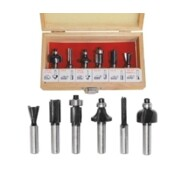 Puidufreeside komplekt AW Tools 6 osaline - 8 mm