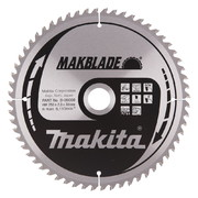 Saeketas Makita 250x30x2,3mm 60T 5° - risti lõige, clean cut