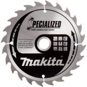 Saeketas Makita 165x20x1,5mm 24T 20° B-09167