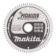 Saeketas Makita 216x30x2,5mm 72T 5° - laminaadile