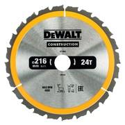 Saeketas DeWalt 216x30 mm x 24z - DT1952