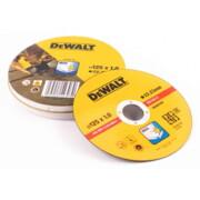 Lõikeketas DeWalt DT3507 125x1,0mm - 10 tk