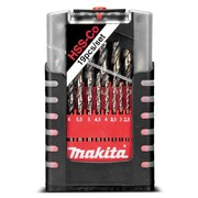 19-osaline metallipuuride komplekt Makita HSS-Co 5%