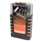 19-osaline metallipuuride komplekt Makita M-FORCE