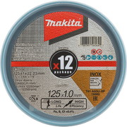 Lõikeketas Makita A60U 125x1 mm RST/ METALL - 12 tk