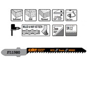 Tikksaetera CMT 76 x 2 mm 12TPI, puidule, HCS - 5 tk