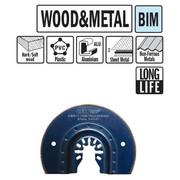 Multitööriista tera CMT 87 mm, puidule ja metallile