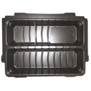 MakPac kohvri sisu, sisaldab 6 erineva suurusega jaotajat