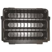MakPac kohvri sisu, sisaldab 9 erineva suurusega jaotajat