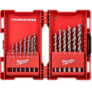 Metallipuuride komplekt Milwaukee Thunderweb DIN 338 - 19 osa