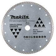 Teemantlõikeketas Makita TURBO 230x22,23mm A-84084 KÕVA BETOON / GRANIIT