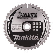 Saeketas Makita 190x20x1,9mm 40T -18° CLEAN CUT