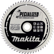 Saeketas Makita 190x20x1,7mm 60T 20° CLEAN CUT