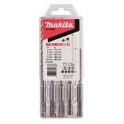 Löökpuuride komplekt Makita SDS-Plus NEMESIS2 5-10 mm, 5-osaline