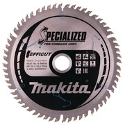 Saeketas Makita EFFICUT 165x20x1,85 mm 60T 10°
