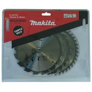Saeketaste komplekt Makita 165x20x2,0mm, 3-osaline