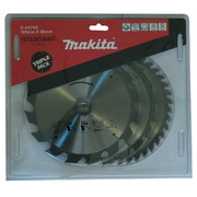 Saeketaste komplekt Makita 185x30x2,0mm, 3-osaline
