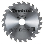 Saeketas Makita 190x30x2,2mm 24T 15°