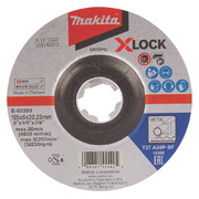 Lihvketas Makita X-LOCK 125x6 mm A36P METALL