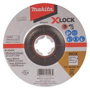 Lihvketas Makita X-LOCK 125x6 mm WA36N RST (INOX)