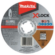 Lõikeketas Makita X-LOCK 125x1,2 mm A60T RST/ METALL
